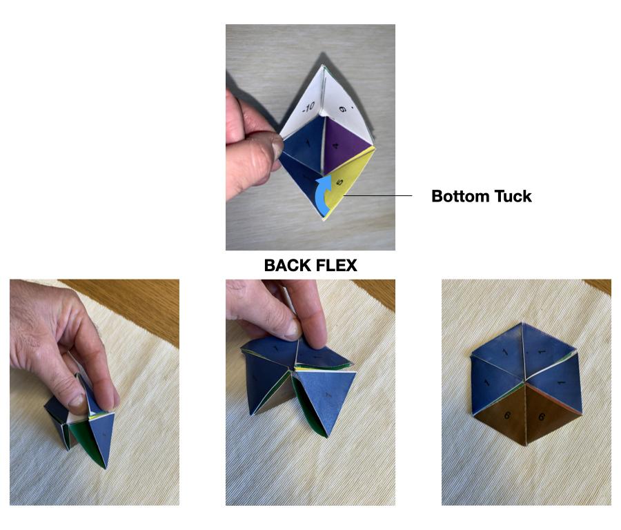 The slot tuck bottom back flex